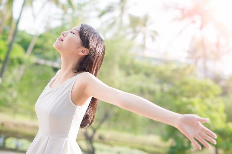 ストレスにより唾液の量が減るためストレスを溜めない生活を意識する