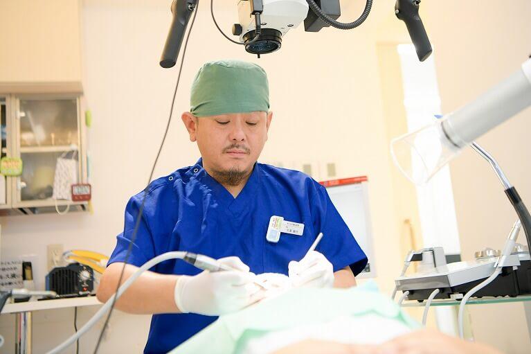 歯周病治療(必要な場合)・術前のクリーニング