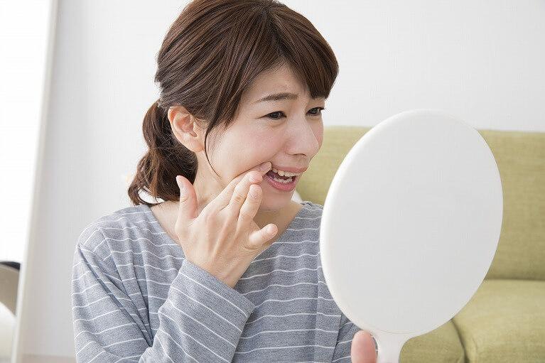 歯茎の腫れの原因は歯周病であることがほとんど