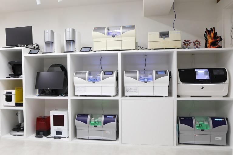 高度先進CAD/CAM 歯科医療室